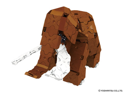 Animal World MAMMOTH - 3 Models, 310 Pieces - Mammoth Side View