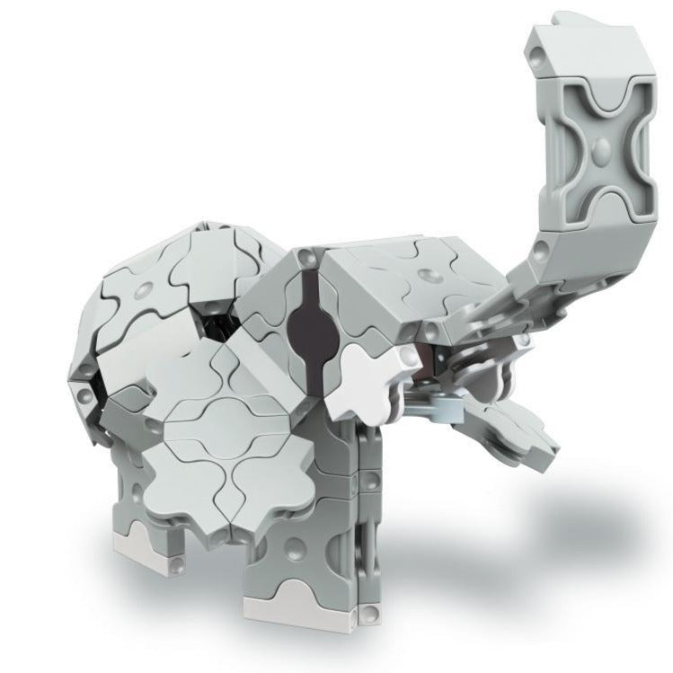 Animal World MINI ELEPHANT - 1 Model, 88 Pieces -  Elephant Model