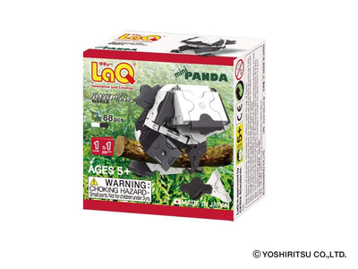 Front cover of LaQ product: Animal World MINI PANDA - 1 Model, 88 Pieces