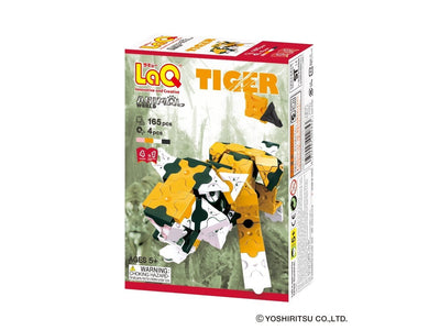 Front cover of LaQ product: Animal World Tiger