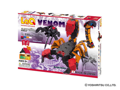 Front cover of LaQ product: Animal World Venom