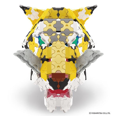 Tiger mask model from Wild Kingdom building set