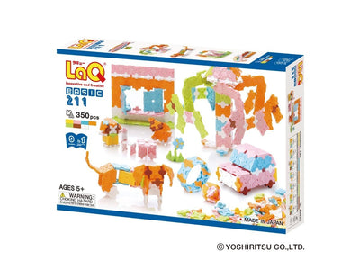Front cover of LaQ product: Basic 211 Pastel