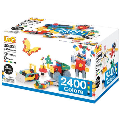 Basic 2400 Colors STEM Construction Toy