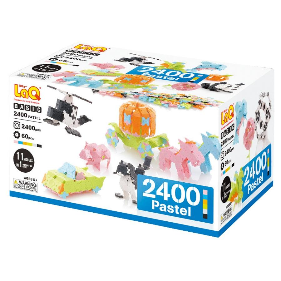 Basic 2400 Pastel - STEM Construction Toy