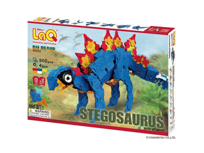 Front cover of LaQ product: Dinosaur World Stegosaurus