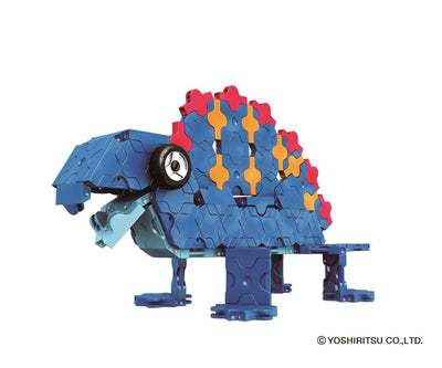 Dinosaur World STEGOSAURUS - 6 Models, 300 Pieces