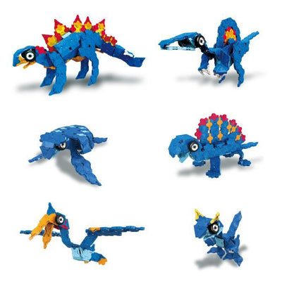 Models you can make with LaQ product Dinosaur World Stegosaurus