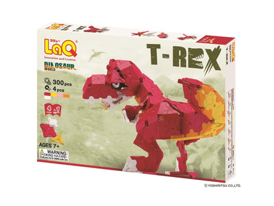 Front cover of LaQ product: Dinosaur World T-Rex