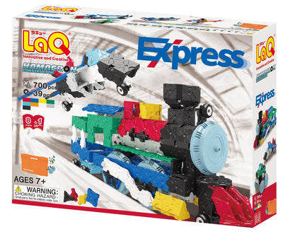 Front cover of LaQ product: Hamacron Constructor Express
