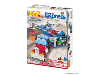 Back cover of LaQ product Hamacron Constructor Express
