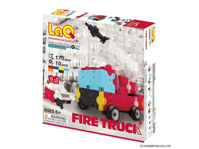 Front cover of LaQ product: Hamacron Constructor Fire Truck