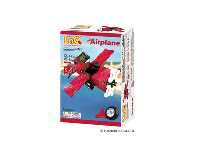 Front cover of LaQ product: Hamacron Constructor Mini Airplane
