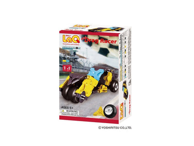 Front cover of LaQ product: Hamacron Constructor Mini Drag Racer