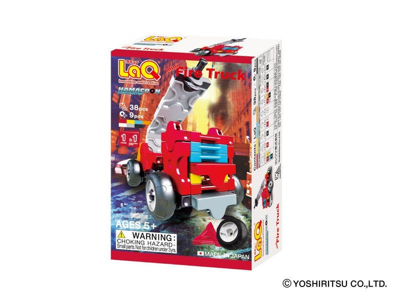 Hamacron Constructor MINI FIRE TRUCK - 1 Model, 38 Pieces