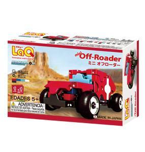 Back cover of LaQ product Hamacron Constructor Mini Off-Roader