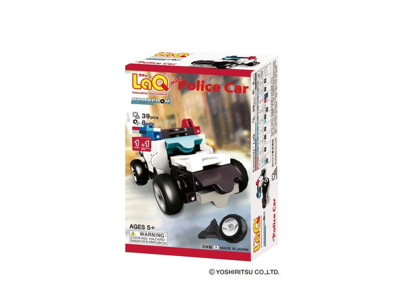 LaQ Hamacron Constructor - Mini Police Car Model