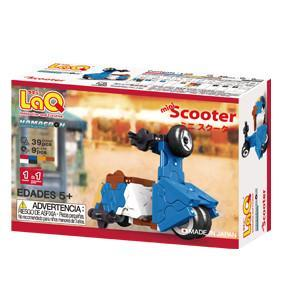 Back cover of LaQ product Hamacron Constructor Mini Scooter