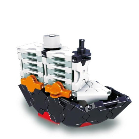 Hamacron Constructor MINI TANKER - 2 Models, 74 Pieces