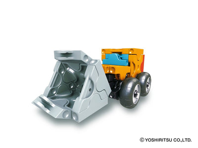 Hamacron Constructor MINI WHEEL LOADER - 3 Models, 40 Pieces