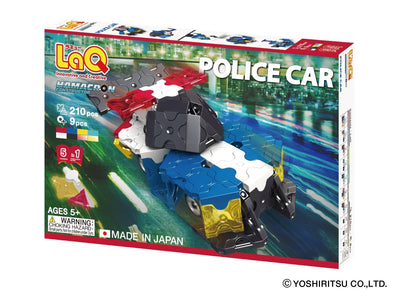 Front cover of LaQ product: Hamacron Constructor Police Car