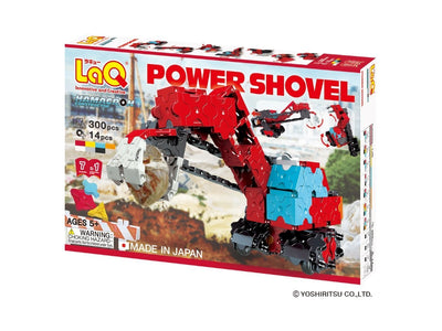 Front cover of LaQ product: Hamacron Constructor Power Shovel