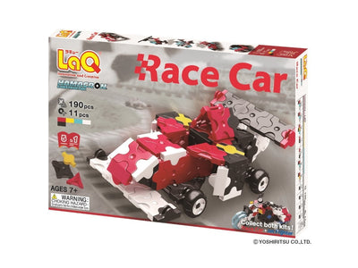 Front cover of LaQ product: Hamacron Constructor Race Car
