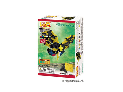 Front cover of LaQ product: Insect World Mini Butterfly