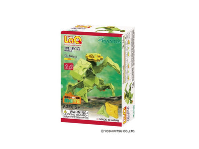 Front cover of LaQ product: Insect World Mini Mantis