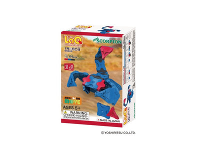 Front cover of LaQ product: Insect World Mini Scorpion