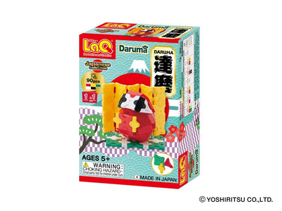 Front cover of LaQ product: Japanese Collection Daruma