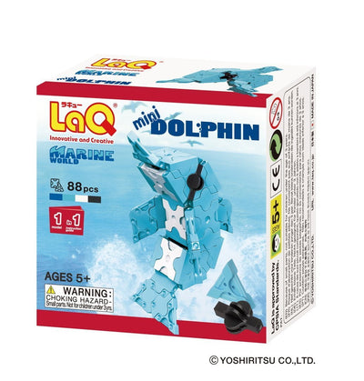 Front cover of LaQ product: Marine World Mini Dolphin