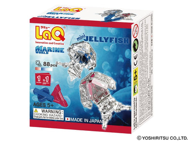 Front cover of LaQ product: Marine World Mini Jellyfish