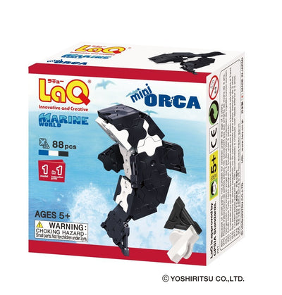Front cover of LaQ product: Marine World Mini Orca