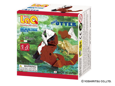 Front cover of LaQ product: Marine World Mini Otter