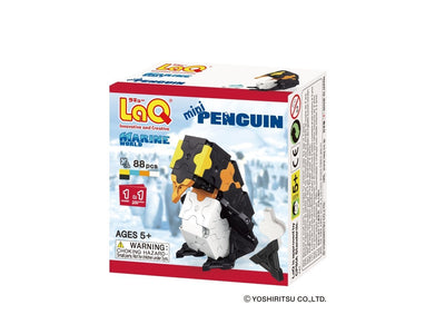 Front cover of LaQ product: Marine World Mini Penguin