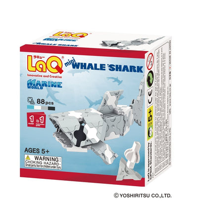 Front cover of LaQ product: Marine World Mini Whale Shark