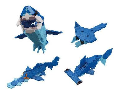 Models you can make with LaQ product Marine World Shark