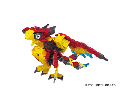 Mystical Beast CHIMERA - 10 Models, 810 Pieces - Phoenix - closed position  model
