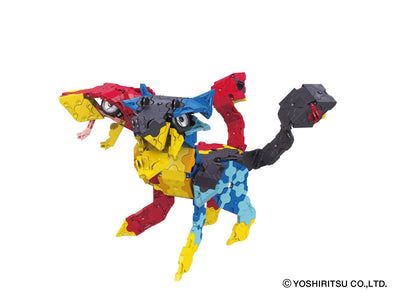 Mystical Beast CHIMERA - 10 Models, 810 Pieces - Orthrus model - 2 headed dog