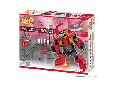 Front cover of LaQ product: Buildup Robot Alex