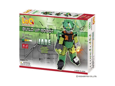 Front cover of LaQ product: Buildup Robot Jade