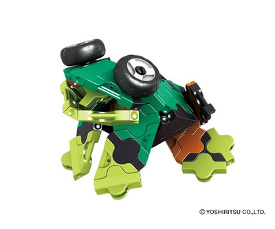 LaQ product Buildup Robot Jade - Model Frog