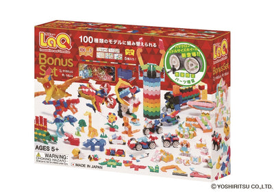 Front cover of LaQ product: BONUS SET 2018 - 100 Models, 1150 Pieces