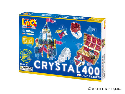 CRYSTAL 400 - 15 Models, 400 Pieces - Front Cover