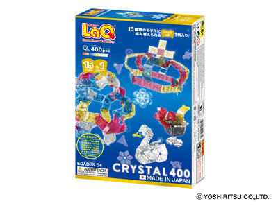 CRYSTAL 400 - 15 Models, 400 Pieces - Back Cover
