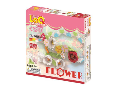 Front cover of LaQ product: Sweet Collection Flower