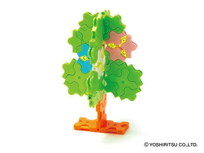 Sweet Collection FOREST FRIENDS - 14 Models, 400 Pieces -  Flowering Tree