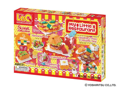 Front cover of LaQ product: Sweet Collection My Little Restaurant