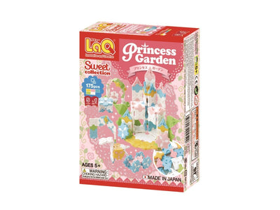 Front cover of LaQ product: Sweet Collection Princess Garden